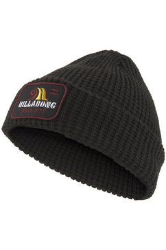 billabong beanie walled beanie zwart