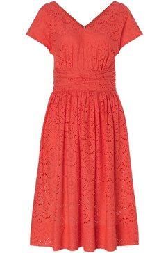 laurèl kanten jurk rood