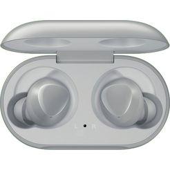 samsung »galaxy buds sm-r170« wireless in-ear-hoofdtelefoon (bluetooth, ingebouwde microfoon) zilver