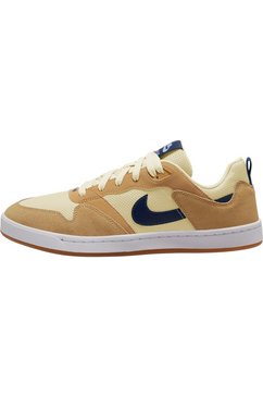 nike sb sneakers »alleyoop skate« beige