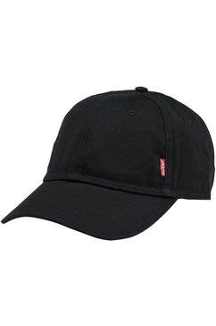 levi's baseballcap gemaakt van katoen zwart