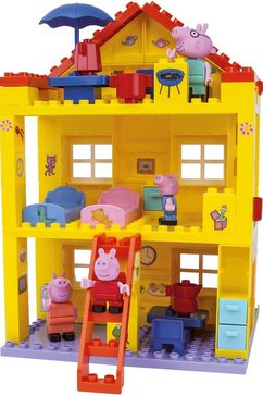 big constructie-speelset big-bloxx peppa pig, peppa house (107 stuks) multicolor