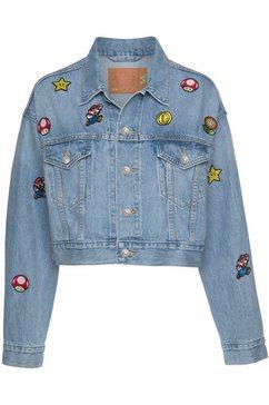 levi's jeansjack blauw