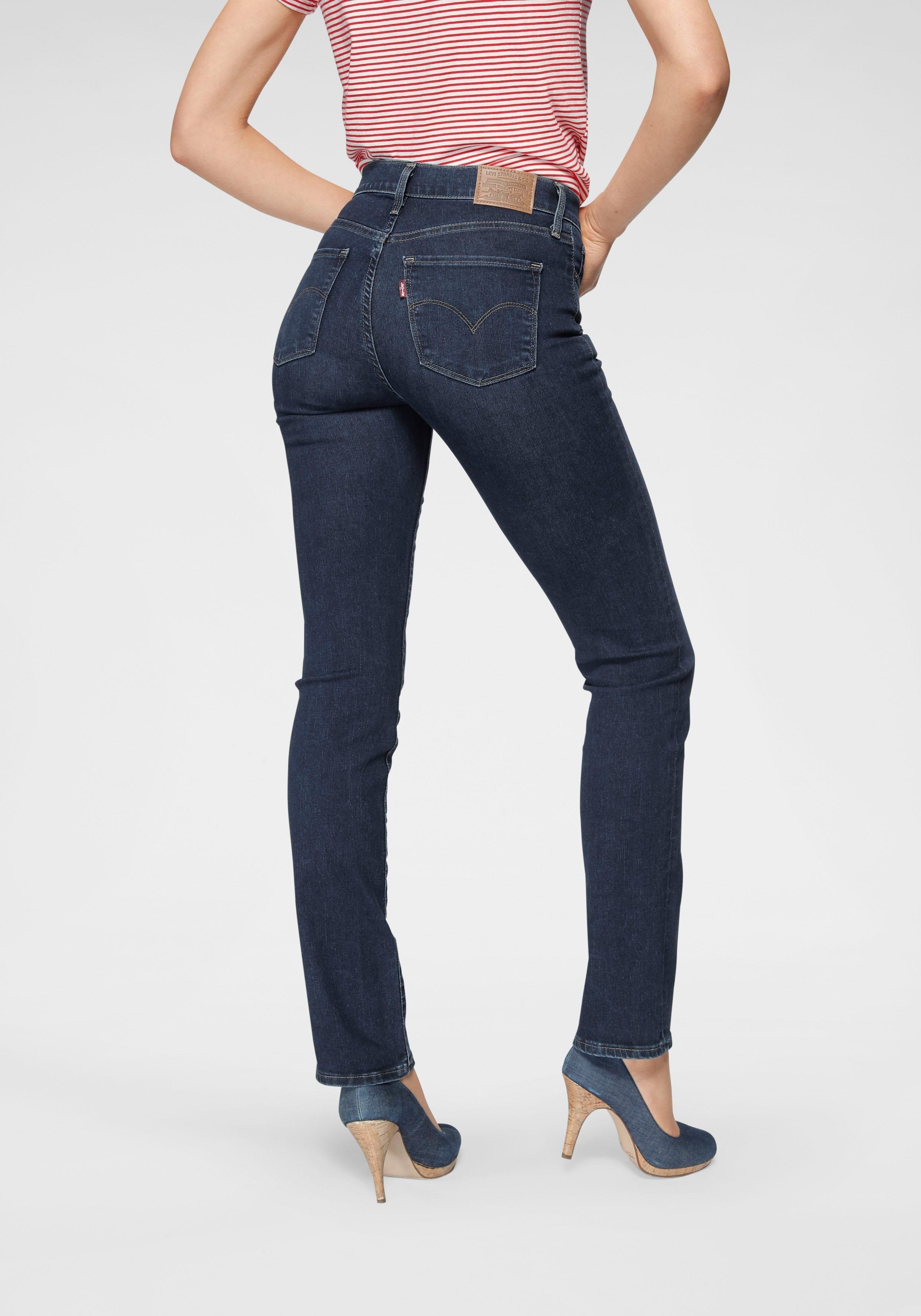 LEVI'S ® rechte jeans »314 Shaping Straight« goedkoop op otto.nl kopen