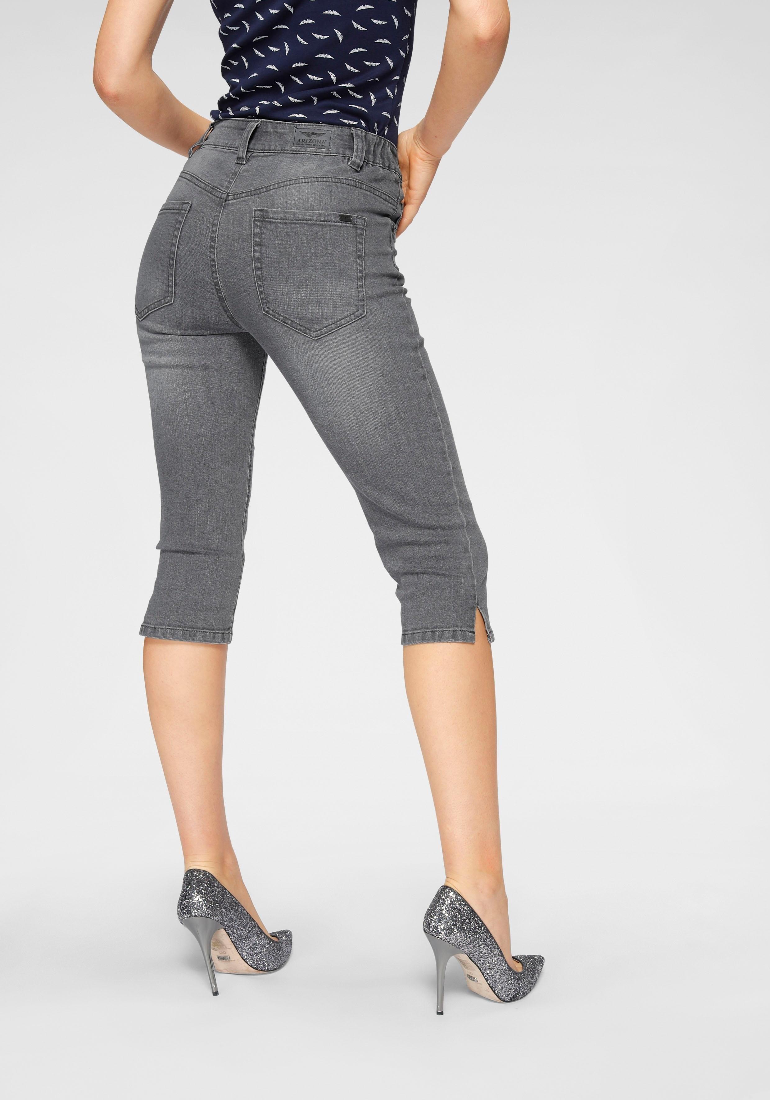 ARIZONA capri jeans »Svenja - Bund mit seitlichem Gummizugeinsatz« goedkoop op otto.nl kopen