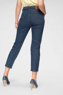 levi's 7-8 jeans »501 croped« blauw