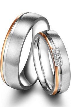 tresor 1934 trouwring 60186015, 60186016 naar keuze met of zonder zirkoontjes zilver