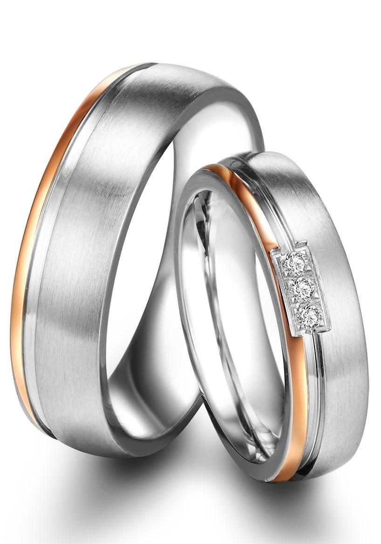 Op zoek naar een Tresor 1934 trouwring 60186015, 60186016 naar keuze met of zonder zirkoontjes? Koop online bij OTTO