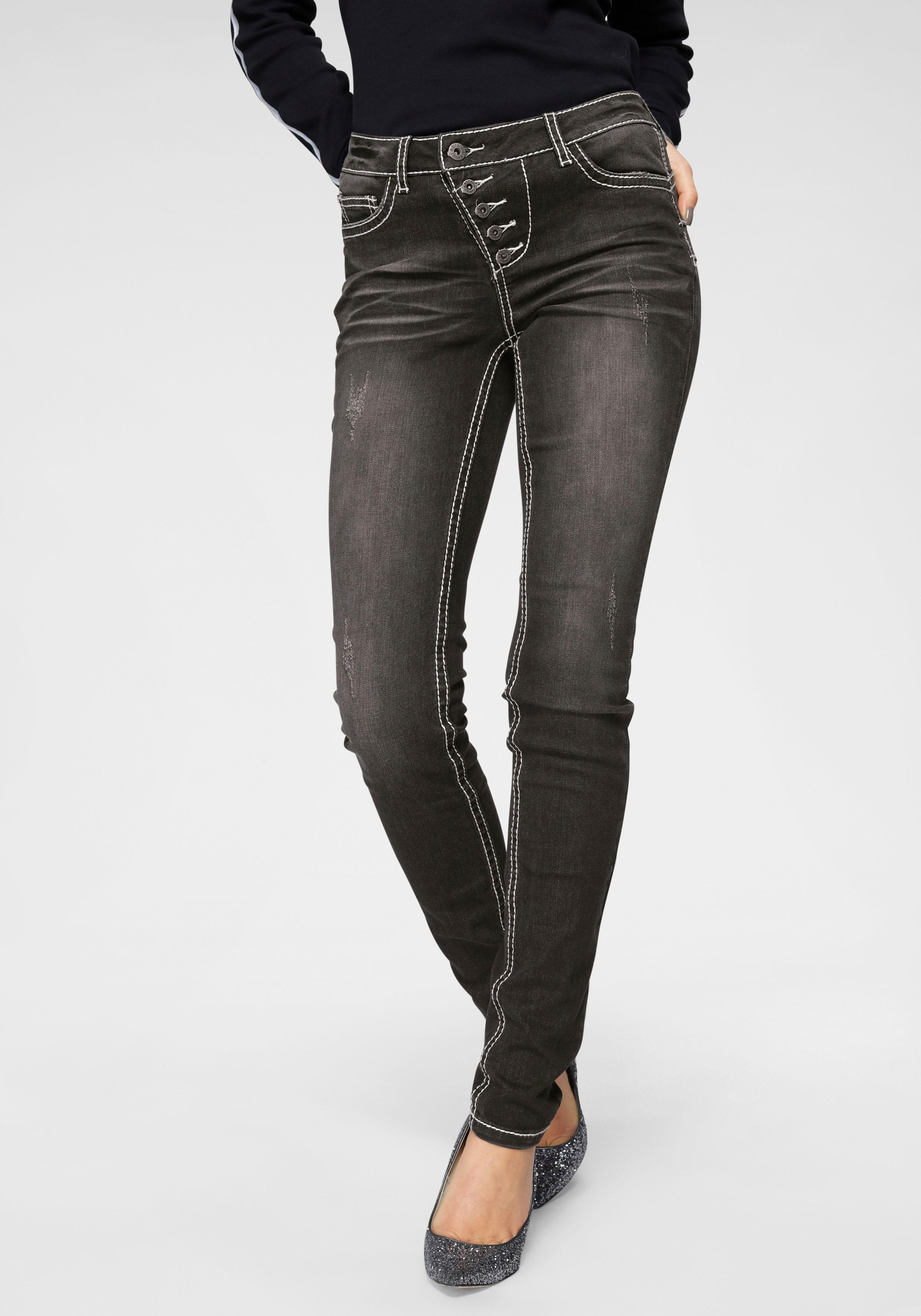 Op zoek naar een Arizona slim fit jeans »Heavy Washed - Shaping«? Koop online bij OTTO