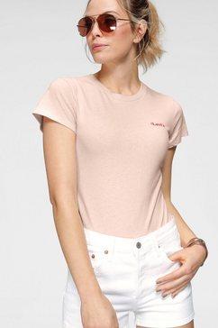 levi's shirtbody »graphic tee bodysuit« roze