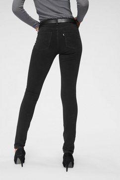 levi's skinny-fitjeans »311 shaping skinny« zwart