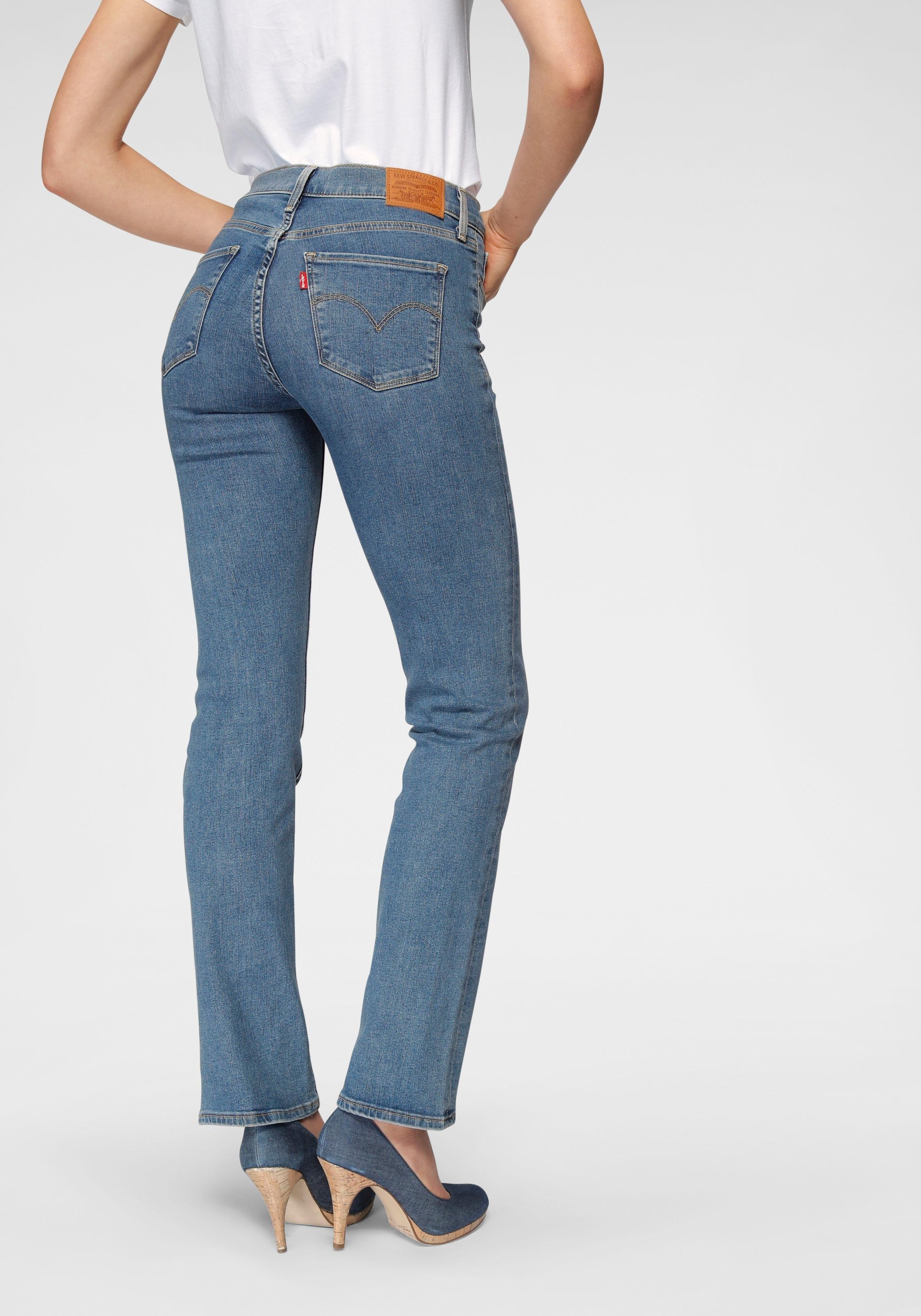 Levi's Rechte jeans 314 Shaping Straight goedkoop op otto.nl kopen