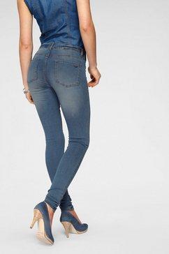 arizona skinny fit jeans »ultra stretch« blauw