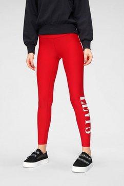 levi's 7-8 jeggings »logo legging« rood