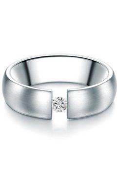 tresor 1934 verlovingsring 60186007 met swarovski-kristallen zilver
