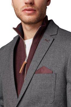 tom tailor colbert »strukturiertes sakko« grijs