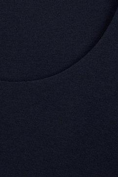 street one shirt met ronde hals »lanea« blauw