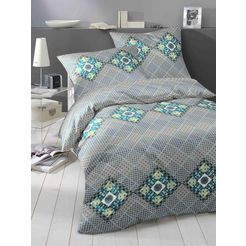 yes for bed overtrekset »moud«, yes for bed blauw