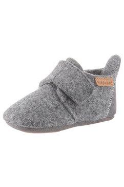 bisgaard pantoffels »wool baby« grijs