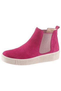 gabor chelsea-boots roze