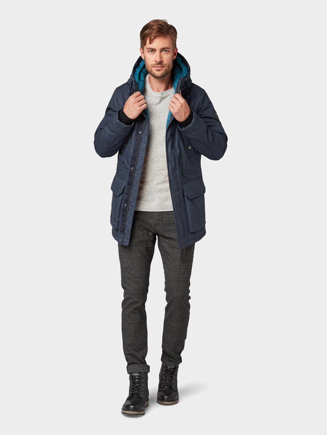 Tom Tailor Winterjack Jacke Mit Doppelter Kapuze Online Verkrijgbaar - Geweldige Prijs