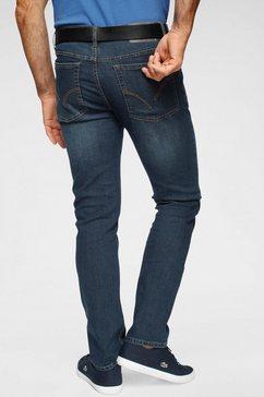 arizona straight jeans met gerecycled polyesteraandeel blauw