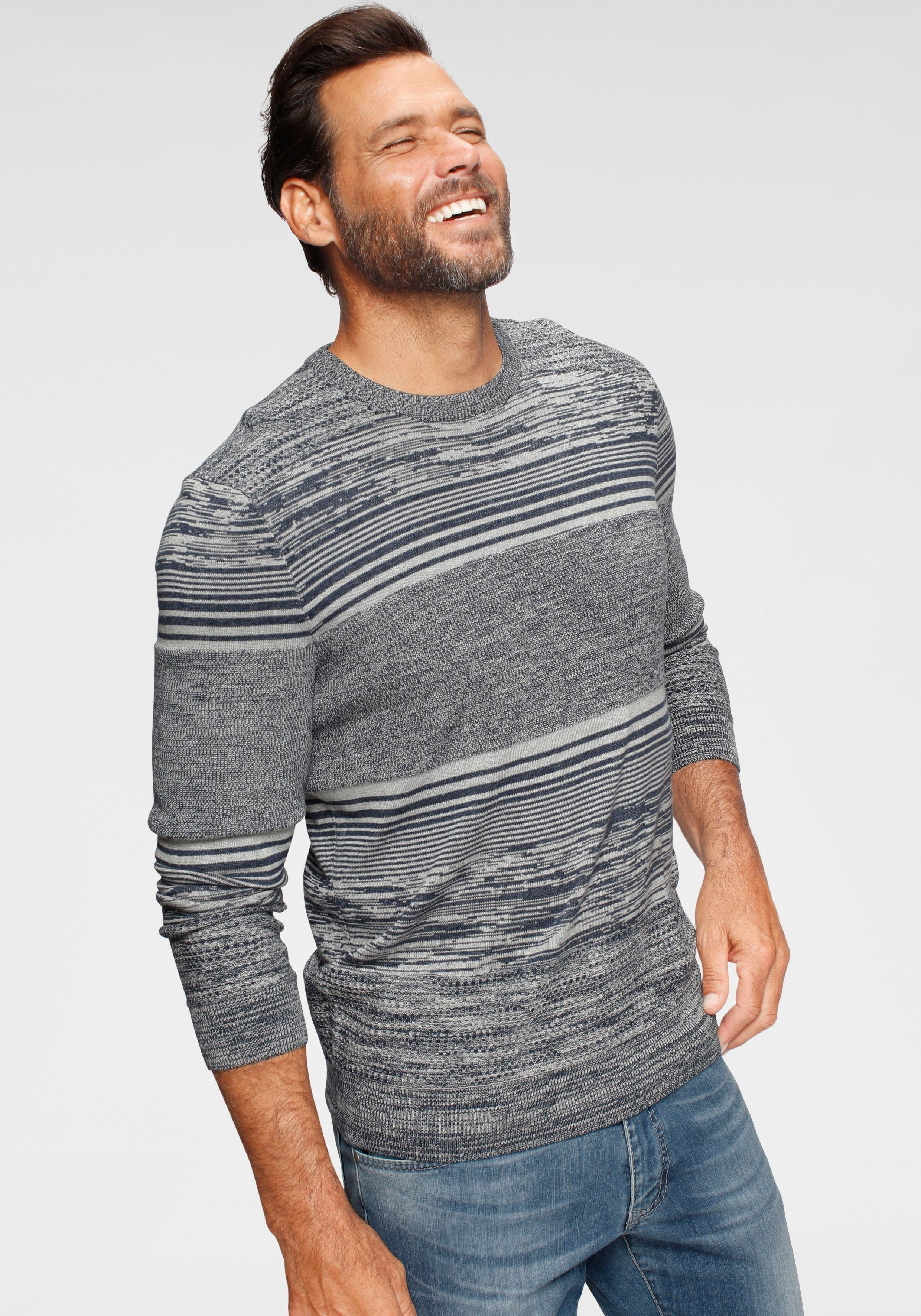 Man's World trui met ronde hals nu online bestellen