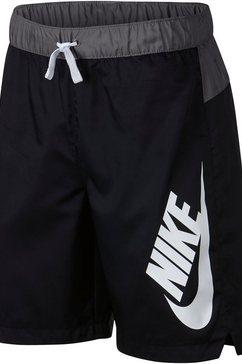 nike short »boys woven shorts« zwart