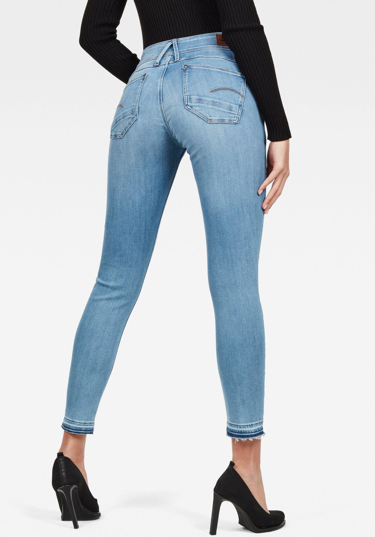G-star Raw skinny fit jeans »Lynn Mid Waist Skinny Ripped« goedkoop op otto.nl kopen