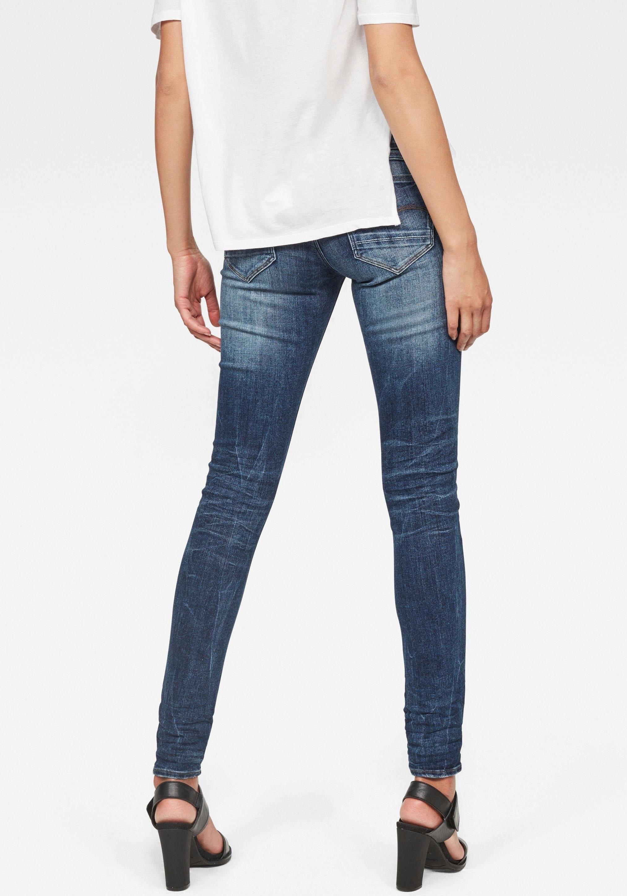 Op zoek naar een G-star Raw skinny fit jeans »D-Staq Mid-Waist Skinny«? Koop online bij OTTO