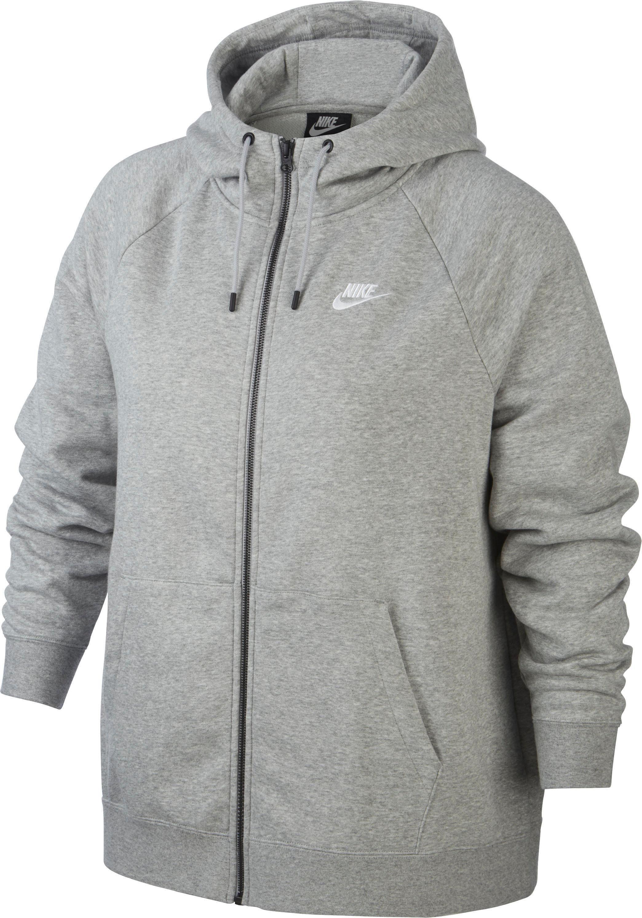Nike Sportswear Capuchonsweatvest Essential Hoody Fullzip Fleece Plus Size Online Kopen - Geweldige Prijs