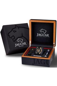jaguar zwitsers horloge »special edition, j691-2« (set, 3 tlg., mit zusaetzlichem wechselband und werkzeug) zwart