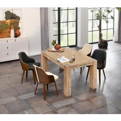 home affaire eettafel in 2 afm. wit