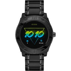 guess connect smartwatch zwart