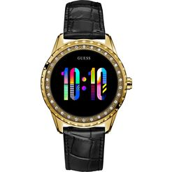 guess connect smartwatch goud