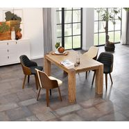 home affaire eettafel in 2 afm. beige