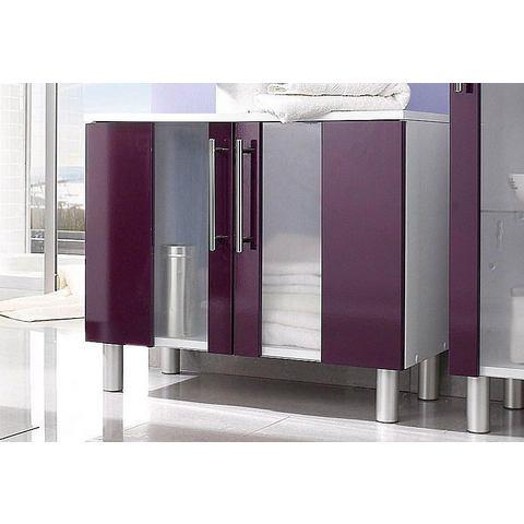 KESPER Wastafelonderkast Visby met poten paarse badkamer onderkast 168