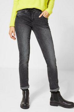 cecil slim fit jeans grijs