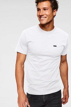 vans t-shirt »left chest logo tee« wit