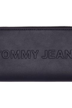 tommy jeans portemonnee »tjw bold lrg za wallet« geel