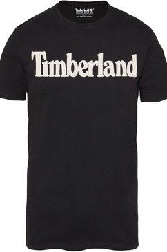 timberland t-shirt »kennebec river« zwart