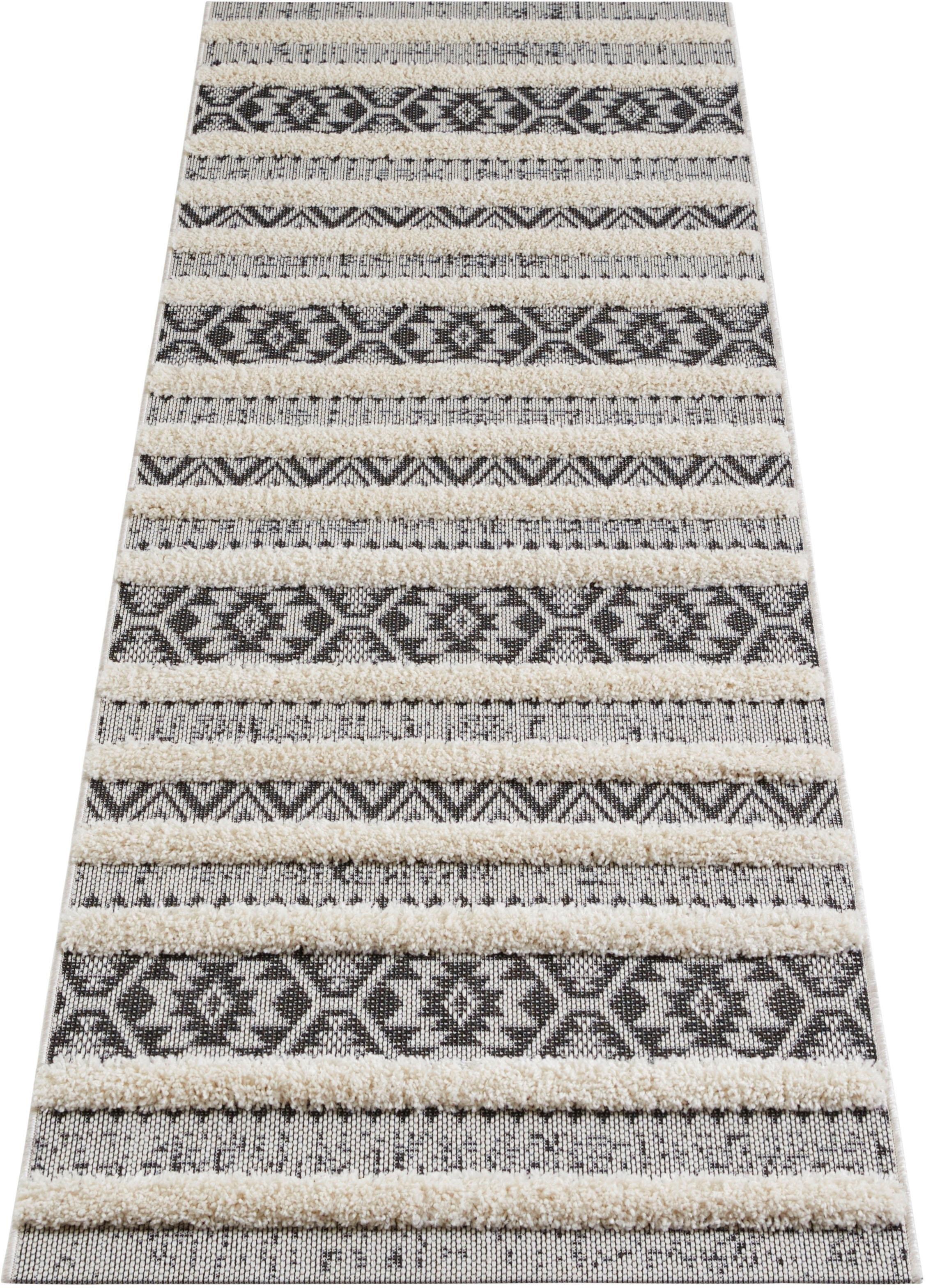 MINT RUGS loper »Sebou«, rechthoekig, hoogte 22 mm, machinaal geweven voordelig en veilig online kopen