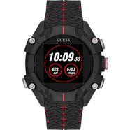 guess connect smartwatch zwart