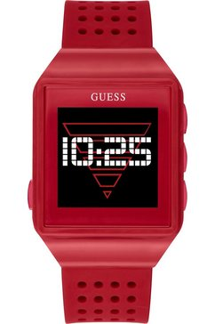 guess connect smartwatch rood