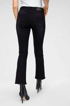 herrlicher ankle jeans »baby cropped« zwart