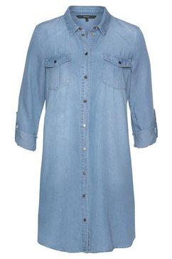 vero moda jeansjurk »silla« blauw