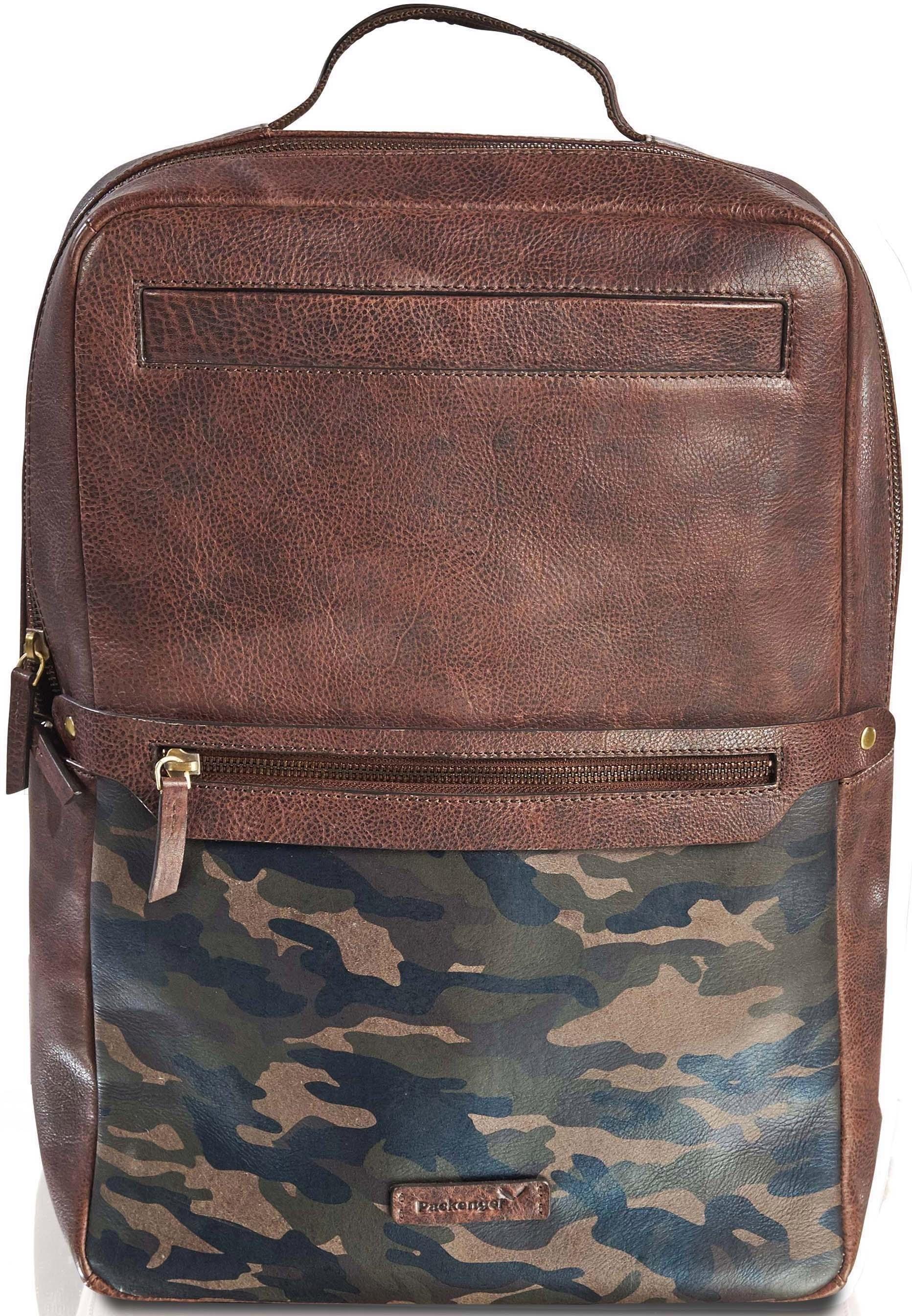 Packenger laptoprugzak »Dallas, Camouflage« - gratis ruilen op otto.nl