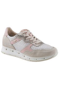 igi  co sneakers met sleehak beige