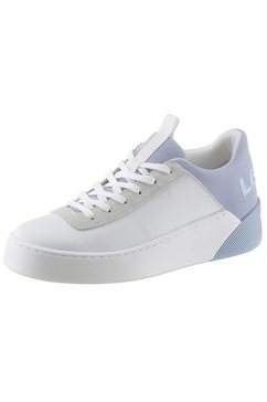 levi's plateausneakers »mullet« wit