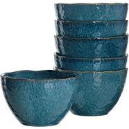 leonardo dessertschaaltje matera (set, 6-delig) blauw